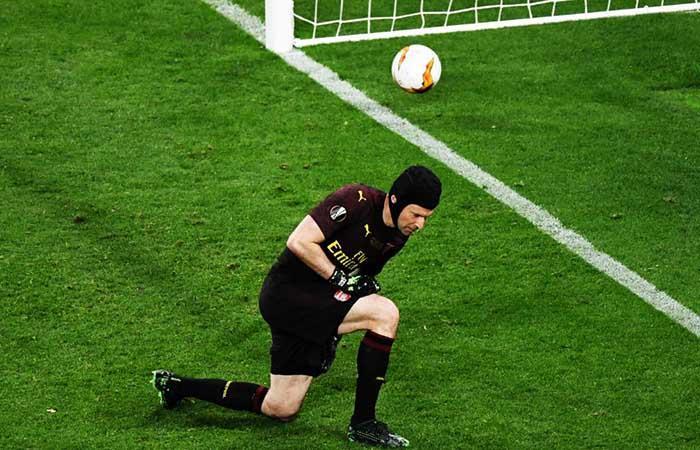 Petr Cech le dijo adiós al fútbol (Foto: twitter)