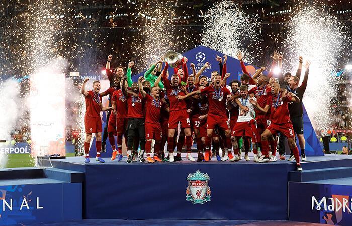 Liverpool es campeón de la Champions League. Foto: EFE