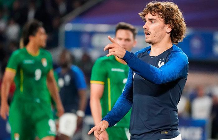 Francia derrotó a Bolivia por 2-0 en Nantes. Foto: EFE