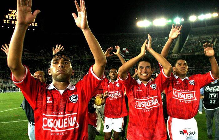 Cienciano en el estadio Monumental (Foto: EFE)