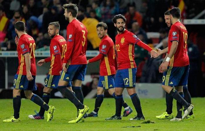 Selección de España (Foto: EFE)