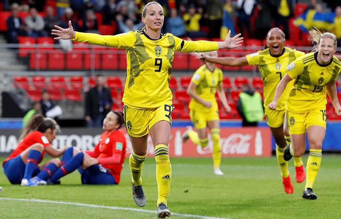 Chile vs Suecia EN VIVO ONLINE por el Mundial Femenino Francia 2019