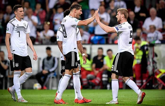 Alemania goleó 8-0 a Estonia por las clasificatorias rumbo a la Eurocopa 2020