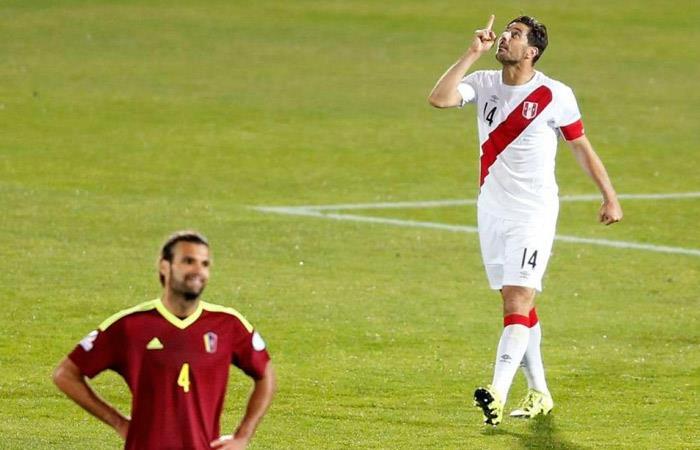 Perú vs Venezuela se volverán a ver las caras en la Copa América. Foto: EFE