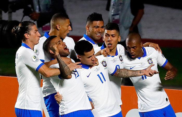Brasil goleó a Bolivia en el inicio de la Copa América (Foto: EFE)