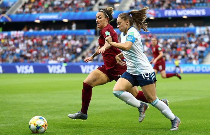 Argentina vs Inglaterra EN VIVO ONLINE por el Mundial Femenino. Foto: Twitter