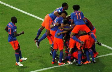 Argentina vs Colombia: así fueron los goles del partido