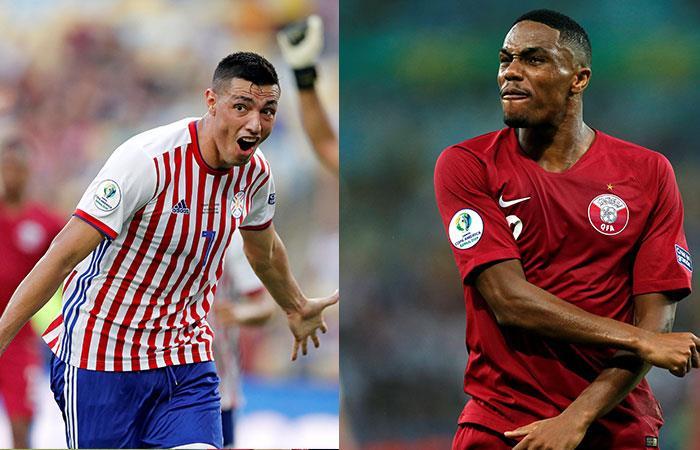 Paraguay empató ante Qatar 2-2. Foto: EFE