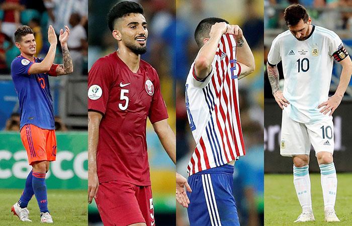 Colombia, Qatar, Paraguay y Argentina (Foto: EFE)