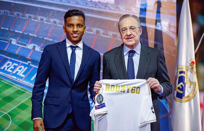 Rodrygo llega al Real Madrid con 18 años (Foto: EFE)