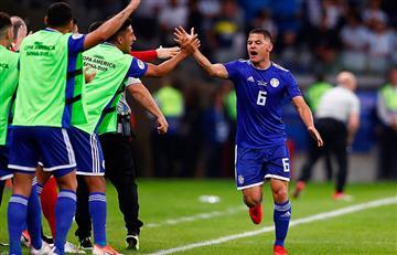 Así fueron los goles del empate entre Argentina y Paraguay por Copa América