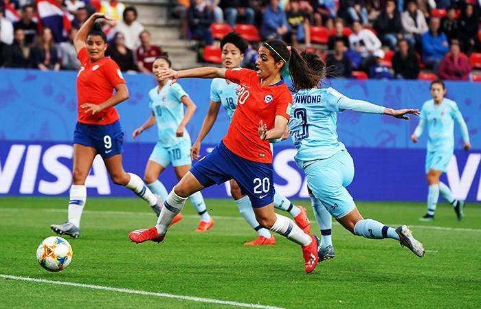 Chile quedó eliminada del Mundial Femenino Francia 2019 (Foto: @EFE)