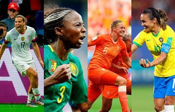 Mira los cruces de los octavos de final del Mundial Femenino Francia 2019