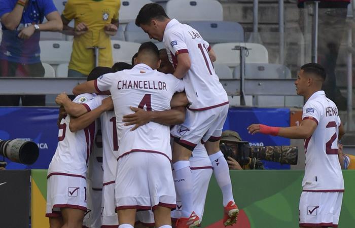 Venezuela goleó 3-1 a Bolivia por la fecha 3 de la Copa América (Foto: Twitter)