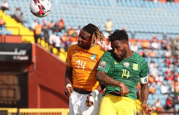 Costa de Marfil derrotó a Sudáfrica en Copa Africana de Naciones