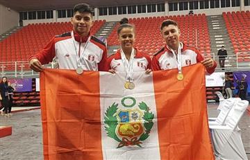 Selección peruana de gimnasia consiguió seis medallas en Sudamericano