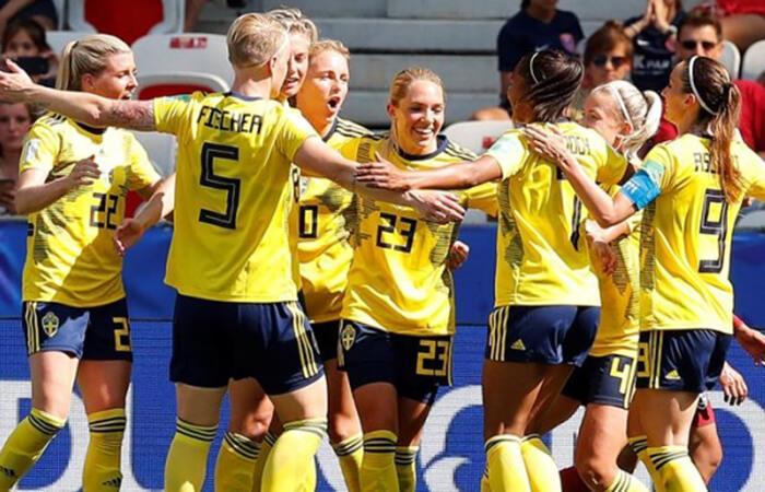 Suecia venció a Canadá (Foto: EFE)