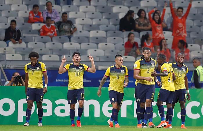 Ecuador y Japón quedaron fuera de la Copa América (Foto: EFE)