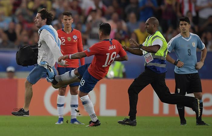 Gonzalo Jara: árbitro de la Conmebol no pueden sancionarlo