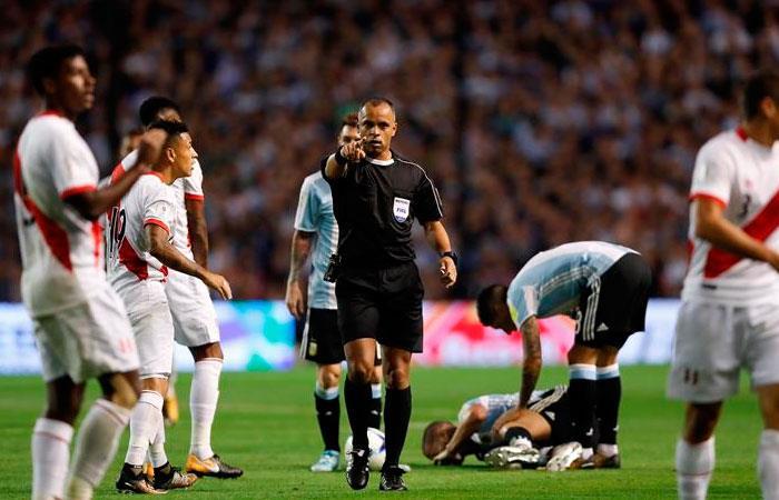 Wilton Sampaio estará encargado de arbitrar el Perú vs Uruguay por Copa América
