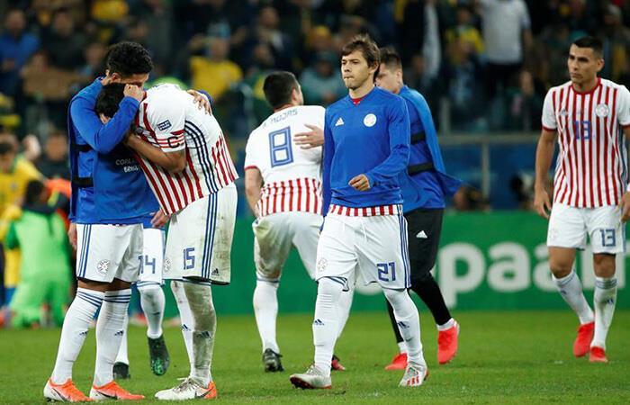 Paraguay cayó en tanda de penales ante Brasil (Foto: EFE)