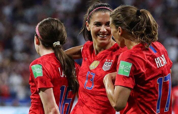 Estados Unidos buscará su cuarto título tras llegar a la final del Mundial (Foto: EFE)