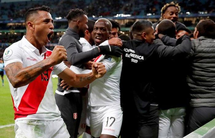 Perú se medirá ante Brasil en la final de la Copa América (Foto: EFE)