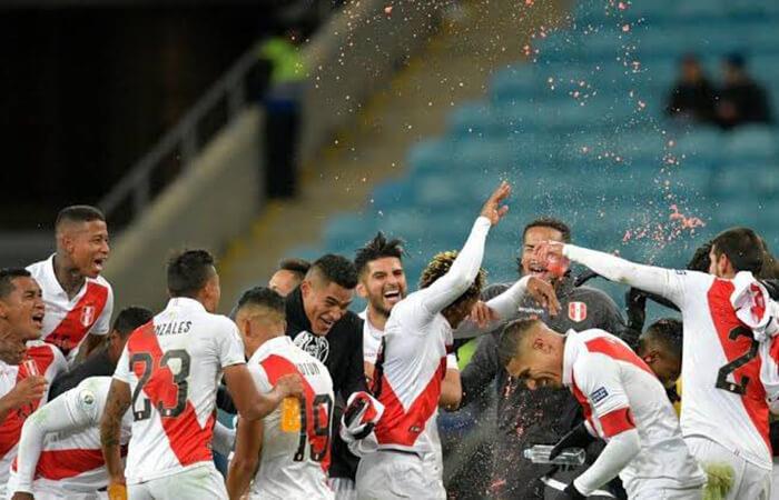 El mejor gol de Perú en la Copa América 2019. Foto: Twitter