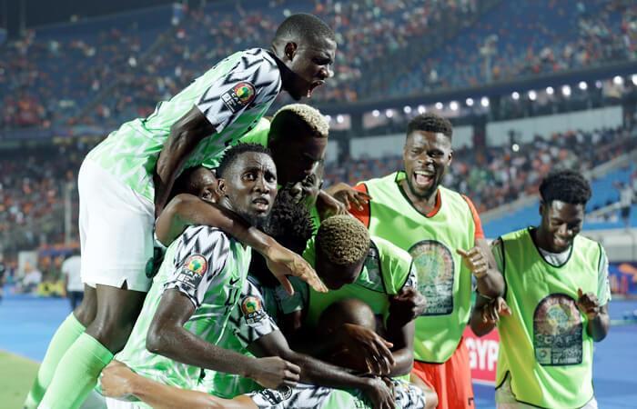 Nigeria 2-1 Sudáfrica por los Cuartos de Final de la Copa Africana. Foto: EFE
