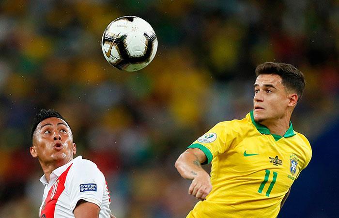 Perú vs Brasil (Foto: EFE)