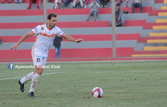 Mauricio Montes anotó el único tanto del partido (Foto: Facebook Ayacucho FC)