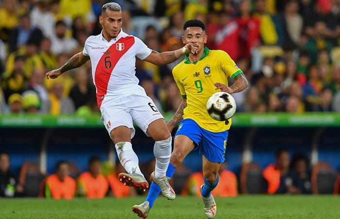 Miguel Trauco disputó los 6 partidos de la Copa América con Perú (Foto: Twitter)