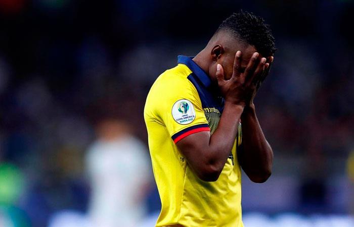 Selección de Ecuador. Foto: EFE