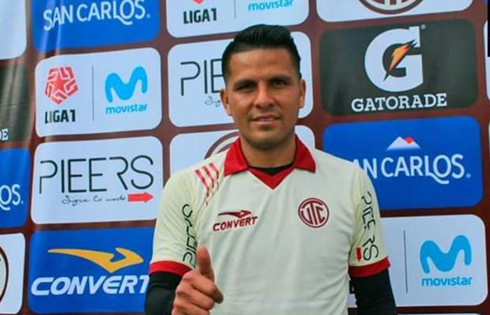 Janio Pósito es nuevo jugador de UTC para el Torneo Clausura (Foto: Facebook)