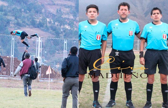 Copa Perú: Arbitró casi es linchado en Ayacucho