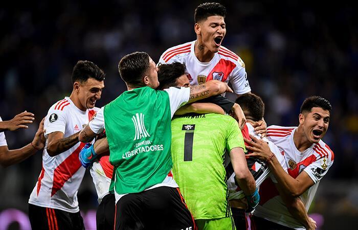 River Plate avanzó a cuartos de final de la Copa Libertadores (Foto: EFE)