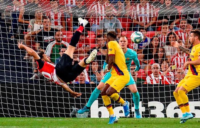 Barcelona cayó 1-0 en el inicio de LaLiga. Foto: EFE