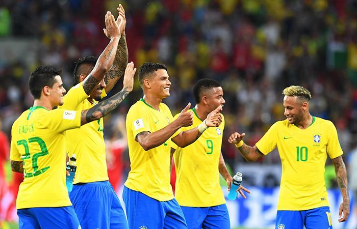 Selección de Brasil (Foto: EFE)