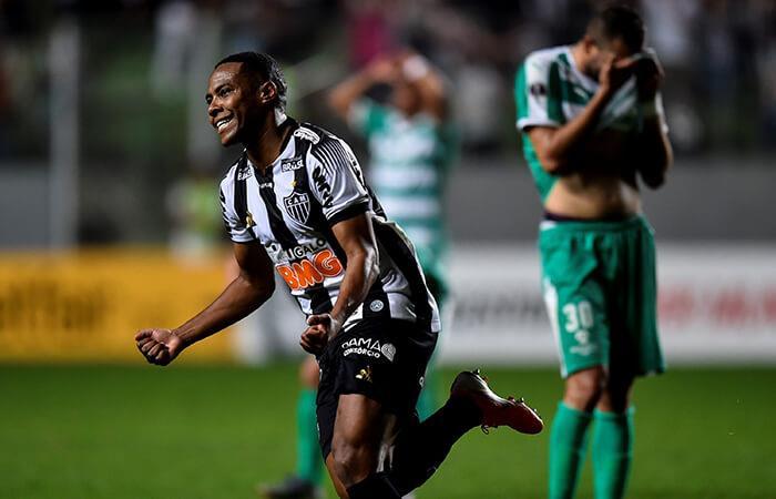 Atlético Mineiro derrotó a La Equidad (Foto: EFE)