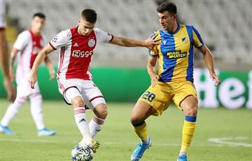 Ajax igualó sin goles en su visita al APOEL por la Champions League