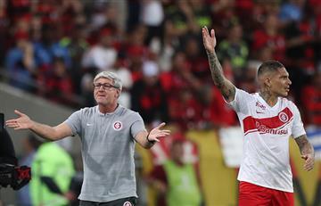 Paolo Guerrero: hinchas de Flamengo lo insultaron al final del partido