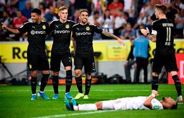 Borussia Dortmund venció 3-1 al Colonia en la Bundesliga
