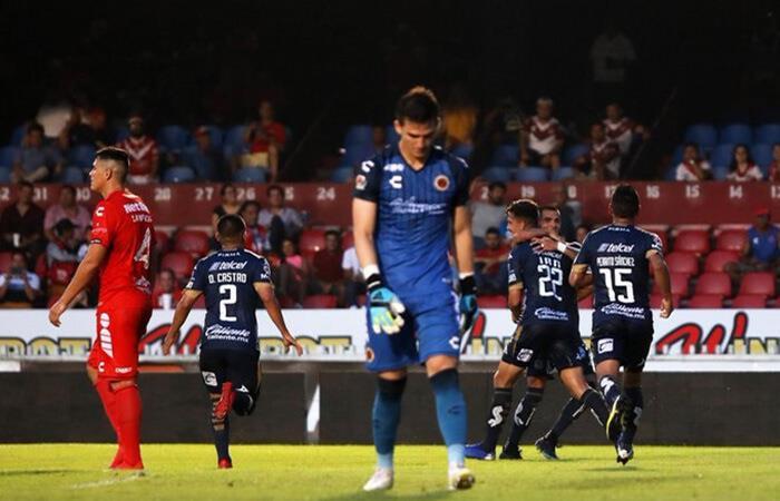 Veracruz sumó 32 partidos sin ganar. Foto: Twitter