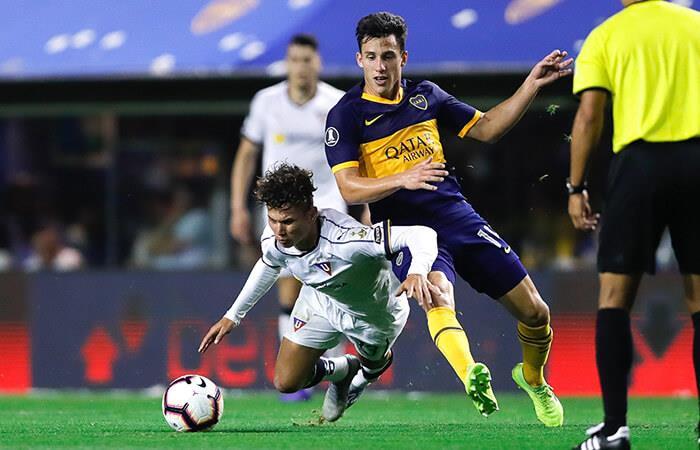 Boca a semis de la Libertadores (Foto: EFE)
