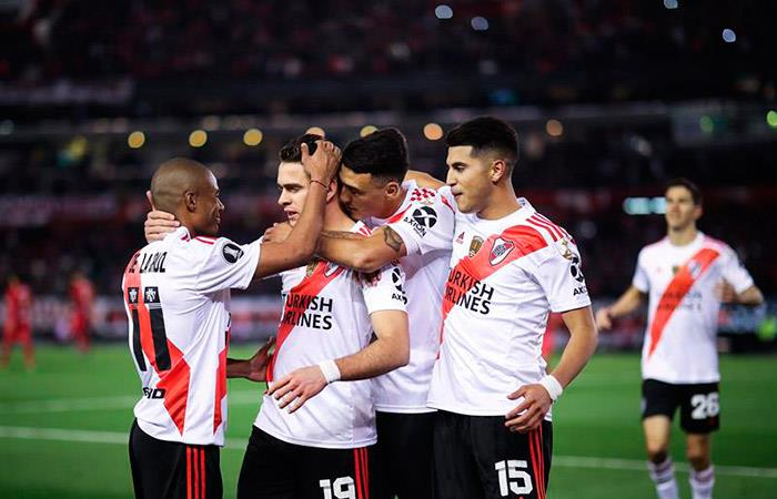 River Plate, en semifinales de la Copa Libertadores. (Foto: EFE)