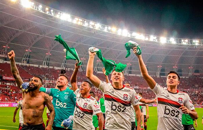 Flamengo sacó a Paolo Guerrero de la Copa Libertadores. (Foto: EFE)
