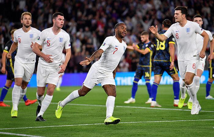 Inglaterra goleó a Kosovo (Foto: EFE)