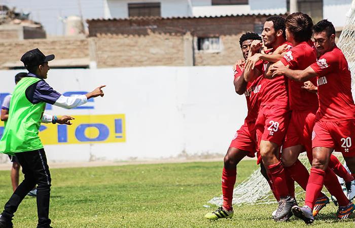 Alfredo Carillo puso el 2-0 para Juan Aurich. Foto: Facebook
