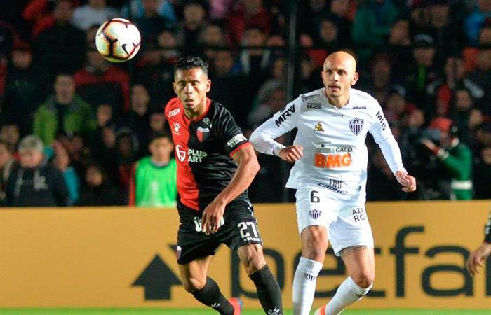 Colón 2-1 Atl. Mineiro por la Copa Sudamericana. (Foto: EFE)