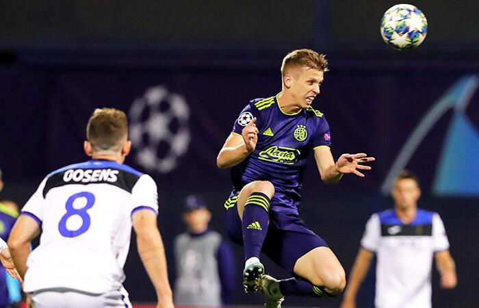 Dynamo Zagreb aplastó al Atalanta (Foto: EFE)